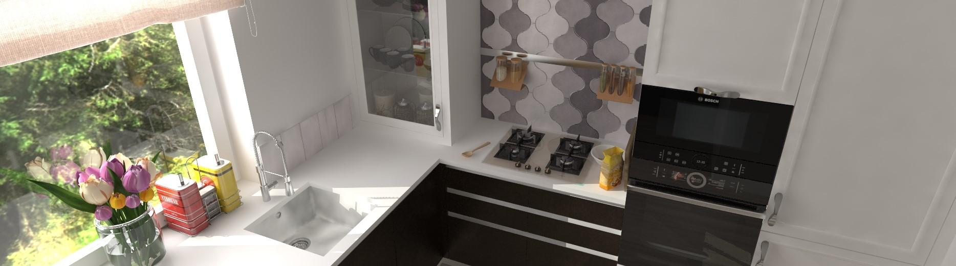 2-izbový byt kuchyňa, Dolný Kubín