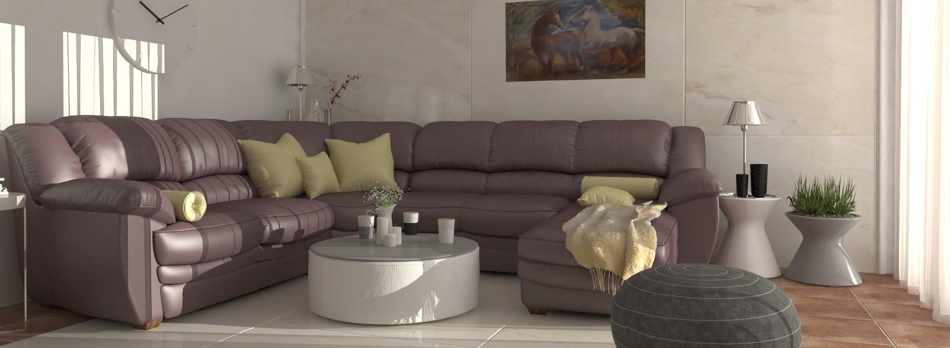 RD Tomášov, upgrade obývacej izby